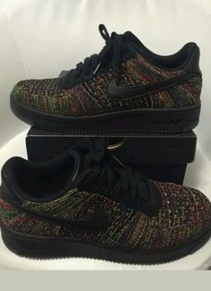 Brand New Nike Air Force 1 Ultra Flynit Low Black 817419 001 Multiple Sizes