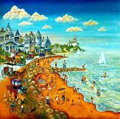 Bill Bell mural- Cape May Beach