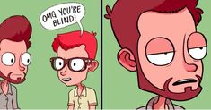 There's so much we sacrifice for the gift of sight. Glasses Meme, Hot Actresses, In Hollywood, Best Funny Pictures, Comics, Memes, Anime, Fictional Characters, Gift