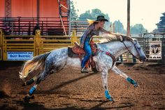 White Horse Blue Socks Barrel Racing RR5W0954w | Flickr - Photo ...