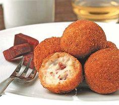 Receitas - Croquetes de presunto (Mycook) - Petiscos.com