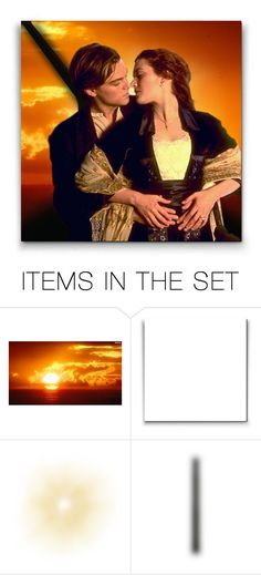 """""""Jack & Rose (Titanic)!"""" by asia-12 ❤ liked on Polyvore featuring art"""