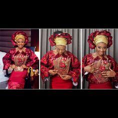 Ireti Doyle's daughter Bimbo's Wedding To Kelechi Presented By Seyiturbo Photography