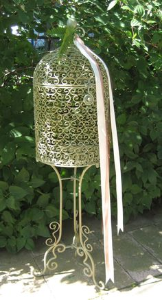 Vintage Birdcage by icecicles, $125.00