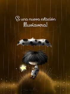 Lluvia Girly M, Moon Illustration, Walking In The Rain, Billie Holiday, Paper Hearts, Stars And Moon, Girl Hairstyles, Life Is Good, Hello Kitty