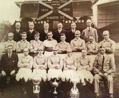 Rangers 1923/1924 title winning side Rangers Team, Rangers Football, Team Photos, My Photos, Football Pictures, World History, Glasgow, Club, Passion
