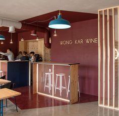 WKW Asian food cafe on Interior Design Served