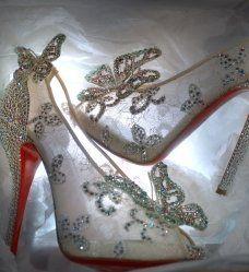 Les chaussures de Cendrillon par Louboutin à gagner sur Facebook