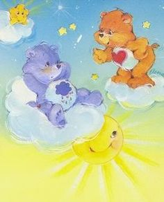 Grumpy Bear and Tender Heart Bear