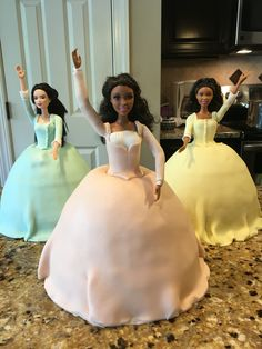 Schuyler Sister cakes! #hamilton by Cakes By Noah (and his friends)