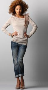 Ann Taylor Loft casual chic. One of my favorite outfits!