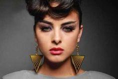** Earrings with an edge