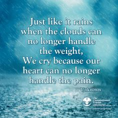 Grief & Bereavement Quote from 4-29-14  TCF Lehigh Valley Facebook page
