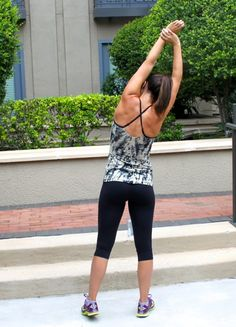 Sweat in Style: Toned in Tie Dye   The Defined Dish  fitness blog, dallas blog, workout clothes, workout style, fitness gear, lululemon, nike, saucony sneakers, health blog