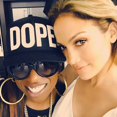 Pin for Later: Jennifer Lopez Has the Most Glamorous and Eclectic Set of BFFs With Missy Elliott