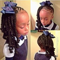 Amazing 1000 Images About Kiddie Hair On Pinterest Cornrows Cornrow Short Hairstyles For Black Women Fulllsitofus