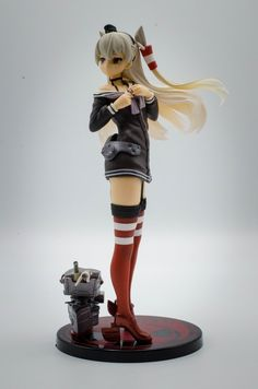 Kantai Collection PVC Statue Amatsukaze 18 cm - In Stock – Geeky AF Box Packaging, 18th, Princess Zelda, Statue, Prints, Collection, Sculptures, Sculpture