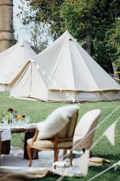 Location de tente mariage (Wedding Camping) pour héberger vos invités sur le lieu de réception de votre mariage, c'est possible, plus d'informations sur http://www.monweddingcamping.fr #location #tente #mariage