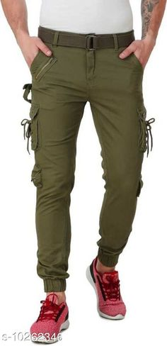 Checkout this latest Trousers Product Name: *Men's Stylish Cotton solid Cargo* Fabric: Cotton Pattern: Solid Multipack: 1 Sizes:  26, 28 (Waist Size: 28 in, Length Size: 40 in)  30 (Waist Size: 30 in, Length Size: 40 in)  32 (Waist Size: 32 in, Length Size: 40 in)  Country of Origin: India Easy Returns Available In Case Of Any Issue   Catalog Rating: ★3.9 (267)  Catalog Name: Casual Fabulous Men Trousers CatalogID_1860184 C69-SC1212 Code: 994-10262346-3531