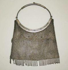 Evening bag. 1900-1925. American or European.