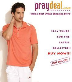 Adidas Textured Polo T-Shirt - WWW.PRAYDAL.COM