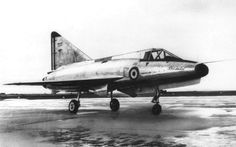 """SNCASE SE.212 Durandal (1956) was a French jet and rocket mixed-power fighter aircraft of the mid-1950s. Designed in parallel with the lightweight fighter-bomber projects destined for the 1953 NATO Fighter Competition that resulted in the winner, the Fiat G.91 and a number of """"also-rans."""" The SE-212 arose out of the same thinking but devolved into a dedicated point-defence interceptor. Despite promising results in tests, the project was cancelled."""