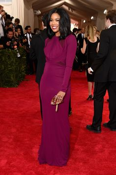 Gabrielle Union in Zac Posen