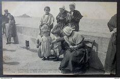 Douarnenez - CPA 29 - CMCB 104 - Jeunes Filles de DOUARNENEZ - CPA 29 - Coutumes, Moeurs et Costumes Bretons