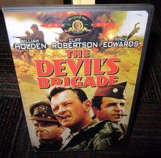 THE DEVIL'S BRIGADE DVD MOVIE, WILLIAM HOLDEN, CLIFF ROBERTSON, EUC