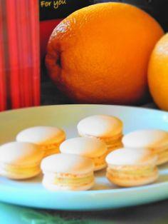 Narancsos macaron Food And Drink, Sweets, Cookies, Orange, Fruit, Cake, Kitchen, Diet, Candy