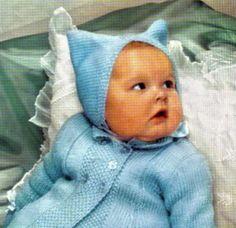 Vintage Digital Pattern  Baby Pram Set  by PrettyPatternsPlease