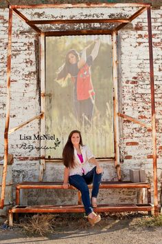 Softball senior pictures urban country