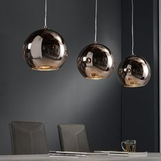Hanglamp Globe voor boven de eettafel. Gezellige dinertjes gegarandeerd!