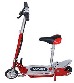Christmas New Year Kid Gift Maxtra Red Electric Scooter Kids Motorized Riding E Scooter with Adjusting Handlebars Rechargeable Battery Scooter Bike -- Continue to the product at the image link. Electric Scooter With Seat, Razor Electric Scooter, Electric Skateboard, Electric Power, Electric Cars, Scooter Helmet, Scooter Bike, Kids Scooter, Motorised Bike