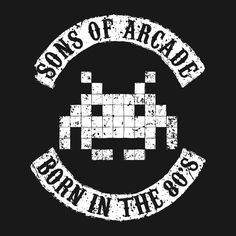 """""""Sons of Arcade"""" by Olipop If you were born in the congratulations, because you're awesome! And you probably enjoyed playing arcade games. Retro Video Games, Video Game Art, Rugrats, Console Style, Bartop Arcade, Generation Game, Arte Nerd, Retro Arcade, Geek Games"""