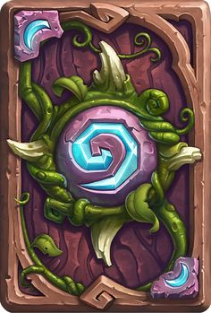 Card Back: Darnassus Artist: Blizzard Entertainment