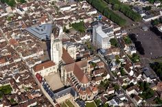 Photo aérienne de Sens - Yonne (89)