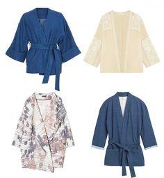 Le Kimono - tendance printemps été 2016