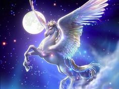 Pegasus - You are a Pegasus! You love gliding through the skies! You also like to wonder around mountains, grassland and the forest and have many exciting adventures!