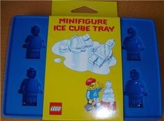 minifigure ice cube tray