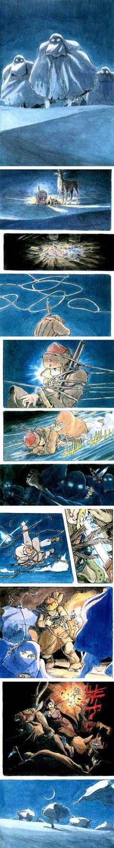 """""""Shuna No Tabi"""" by Hayao Miyazaki (1983)"""