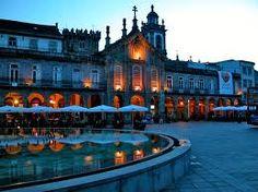 Centro de cidade Braga Portugal