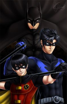 Dick Grayson - From Robin to Nightwing.