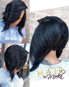 We share the sexiest bob haircuts for black women perfect for all you goddesses. Low maintenance and easy to style, these bob hairstyles are sizzling hot! Black Bob Haircut, Blonde Bob Haircut, Bob Haircut With Bangs, Inverted Bob Hairstyles, Short Black Hairstyles, Natural Hair Instagram, Platinum Blonde Bobs, Quick Weave Bob, Round Face Haircuts