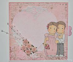 Bröllops kort / Wedding card