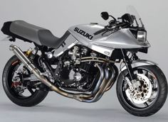 Words: Roland Brown Photography: AC Sanctuary At first glance these could be just faithfully restored classic bikes—big Japanese machines… Suzuki Bikes, Suzuki Motorcycle, Suzuki Gsx, Racing Motorcycles, Motorcycle Style, Custom Motorcycles, Custom Bikes, Suzuki Superbike, Motorcycle Tips