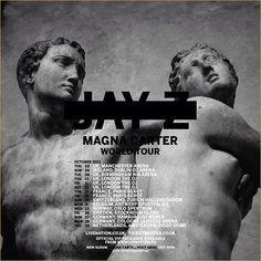 Jay Z European Tour dates magna carter 2013 bestdamntours