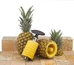 Stainless Steel Pro Pineapple Slicer (QVC item #K14306)