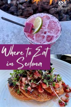 Where to Eat in Sedona, Arizona | The best restaurants in Sedona, bars and cocktails, pastries and coffee, & so much more. Sedona's foodie scene continues to grow, and here's a detailed look at my experiences. #sedona #restaurants #foodie Sedona Restaurants, Kouign Amann, Green Curry, Sedona Arizona, I Want To Eat, Best Dishes, American Food, First Girl, International Recipes