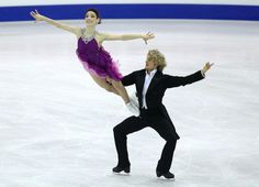 2012 World Figure Skating Championships - Meryl Davis and Charlie White - In Nice, Provence-Alpes-Cote d'Azur.